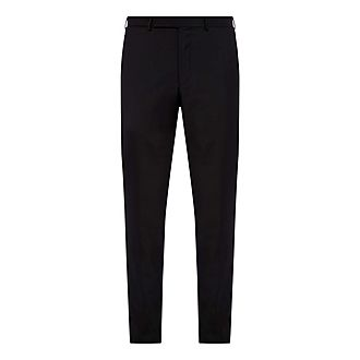 Tropical Wool Slim Fit Trousers