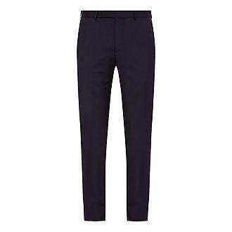 Tropical Wool Slim Fit Trousers