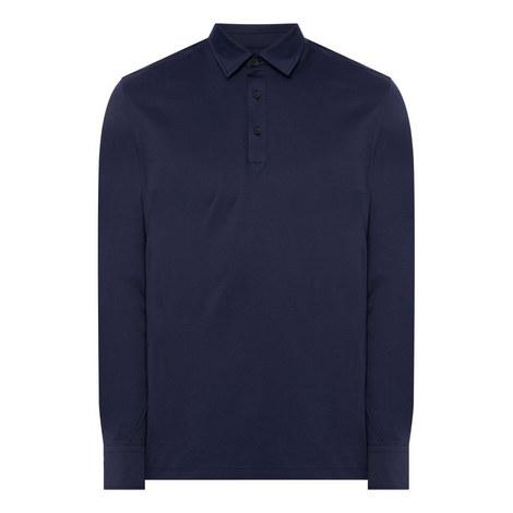 Long Sleeve Polo Shirt, ${color}