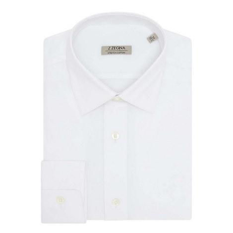 Poplin Stretch Shirt, ${color}