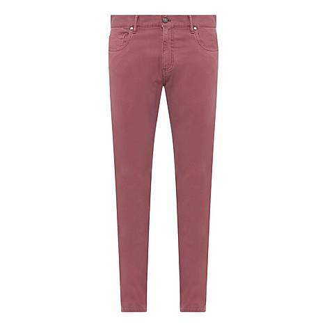 Garment Dye Casual Trousers, ${color}