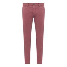 Garment Dye Casual Trousers