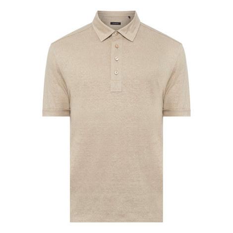 Linen Polo Shirt, ${color}