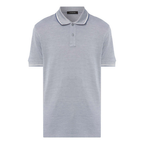 Contrast Jersey Polo Shirt, ${color}