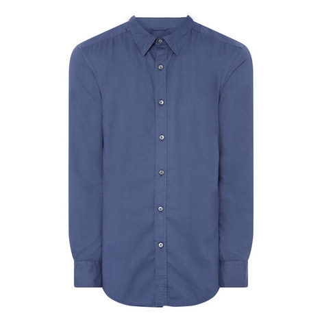 Relaxed Cotton Shirt, ${color}