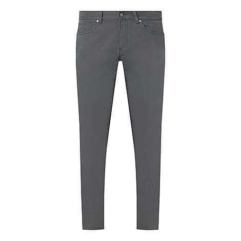Five-Pocket Cotton Trousers, ${color}
