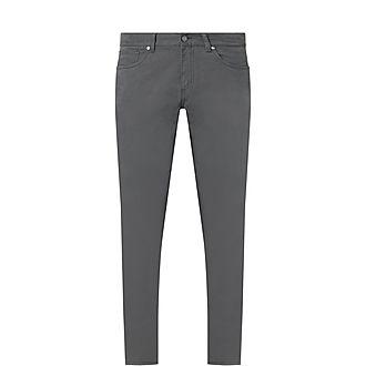 Five-Pocket Cotton Trousers