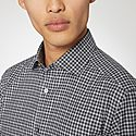 Gingham Flannel Shirt, ${color}