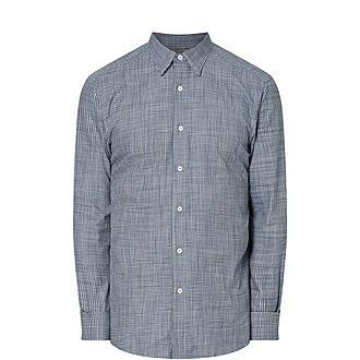 Grid Check Casual Shirt
