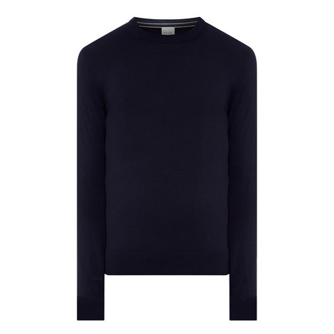 Merino Wool Crew Neck Sweater, ${color}