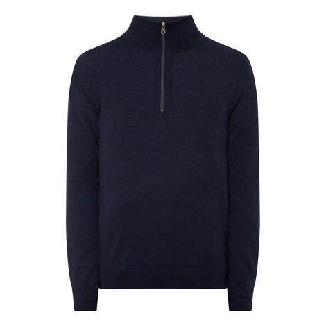 Merino Half-Zip Sweater, ${color}