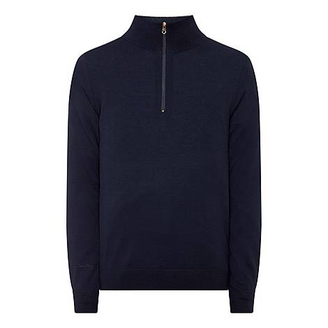 Merino Half-Zip Sweater, ${color}
