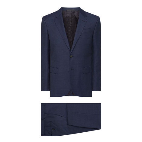 Sharkskin Byard Two-Piece Suit, ${color}