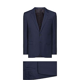 Sharkskin Byard Two-Piece Suit