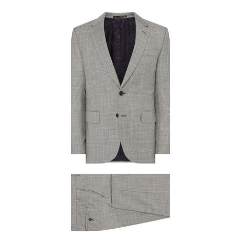 Soho Two Piece Check Suit, ${color}