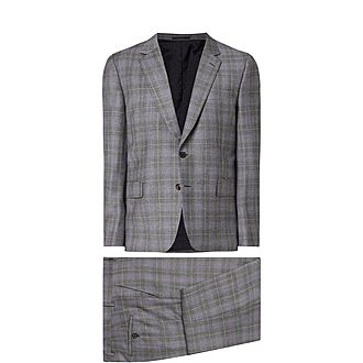 Check Grid Suit