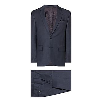 Soho Check Print Suit