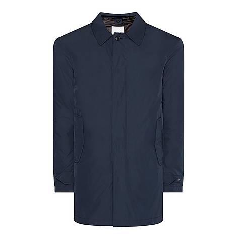 Nylon Down Padded Mac Jacket, ${color}