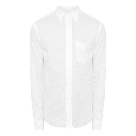 Linen Button Down Shirt, ${color}