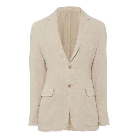 Casual Linen Jacket, ${color}