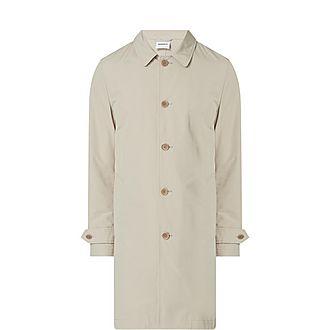 Longline Single-Breasted Coat