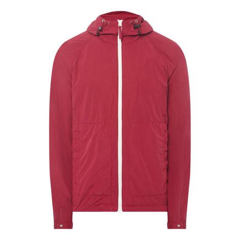 Contrast Zipped Jacket, ${color}