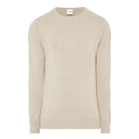 Cashmere Crew Neck Sweater, ${color}