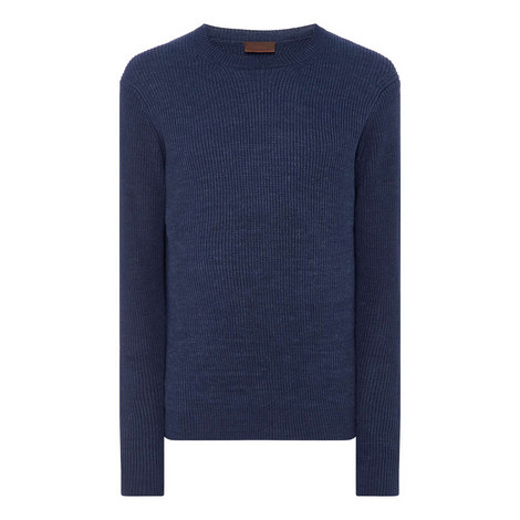 Ribbed Linen Sweater, ${color}