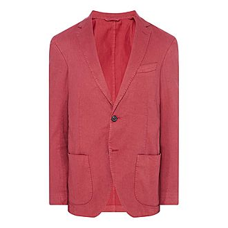 Washed Cotton Linen Jacket