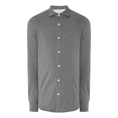 Cotton Long Sleeve Shirt, ${color}