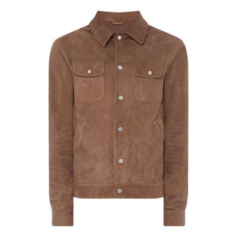 Casual Suede Jacket, ${color}
