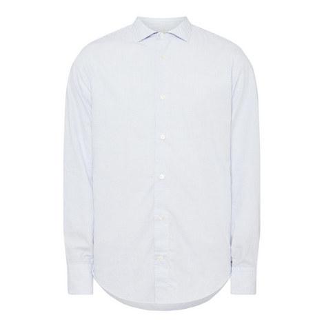 Micro Check Casual Shirt, ${color}