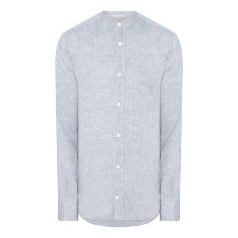 Denim Grandad Shirt, ${color}