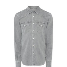 Denim Casual Western Shirt