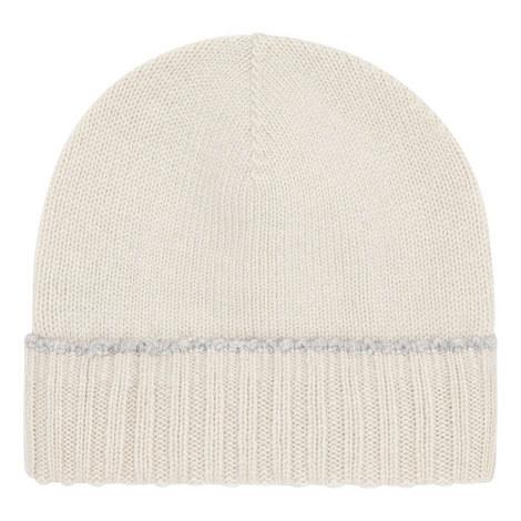 Contrast Trim Beanie Hat, ${color}