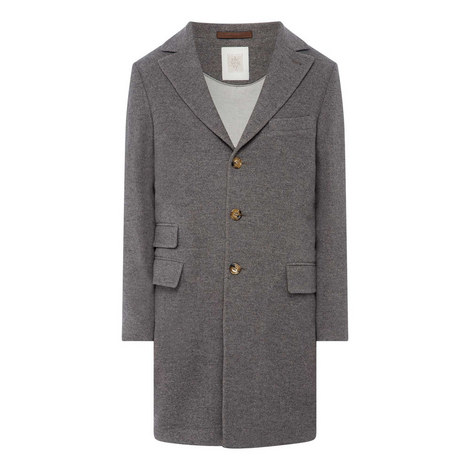 Single Breasted Coat, ${color}