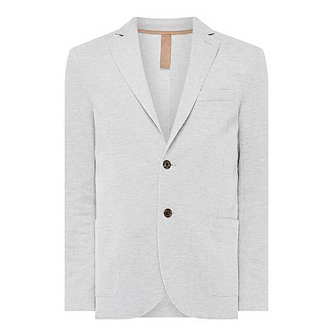 Elow Patch Single-Breasted Blazer, ${color}