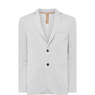 Elow Patch Single-Breasted Blazer