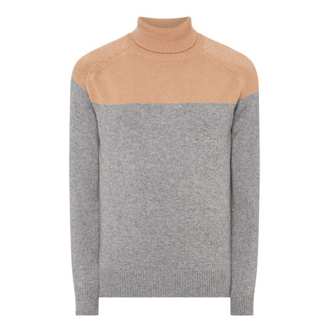 High Neck Sweater, ${color}