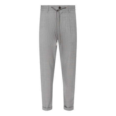 Cuffed Jogger Trousers, ${color}