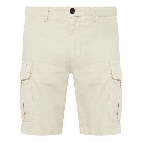 Fitted Cargo Shorts, ${color}