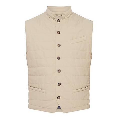 Single-Breasted Gilet, ${color}