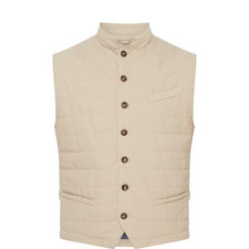 Single-Breasted Gilet