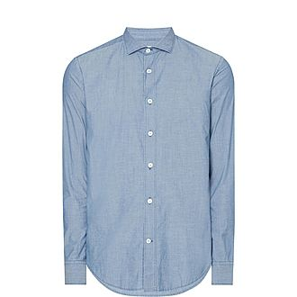 French Collar Casual Shirt