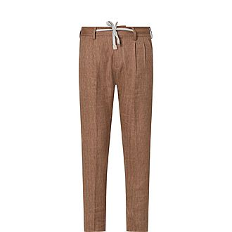 Linen Wool Trousers
