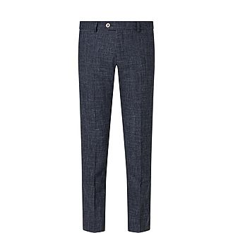 Slim Woven Trousers