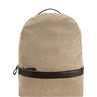 Duo Leather Backpack