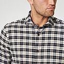 Casual Checked Shirt, ${color}