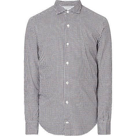 Gingham French Terry Shirt, ${color}