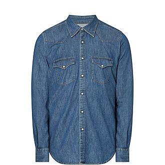 Casual Cotton Stretch Shirt